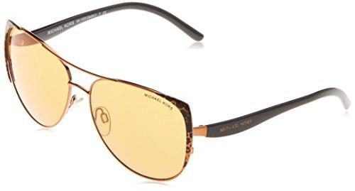 Michael Kors Unisex MK1005 Sadie I Sonnenbrille, Braun (Brown 10925N), One size (Herstellergröße: 59)