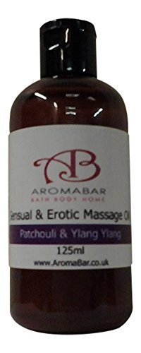 Ylang-ylang & Patchouli Massageöl 125ml Sinnlich & Erotisch