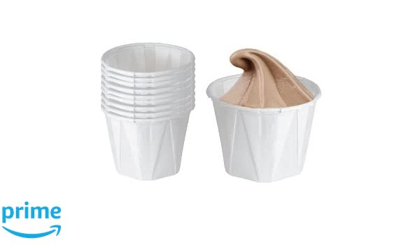 1oz Paper Pots// Ramkin Souffl/é Cup Dry Waxed *Cased 5000 Jenpak Bulk Pack 30ml We Can Source It Ltd