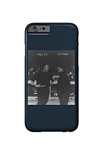 Christy Mattewson and John McGraw, NY Giants, Baseball Photo (iPhone 6 Cell Phone Case, Slim Barely There) -