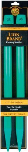 Lion Brand Yarn Löwe Marke Garn Garn 19mm Stricknadeln, Größe 35, (Us 35 Größe Stricknadeln)