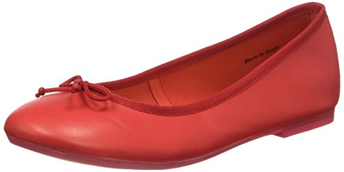 BATA 5245144, Bailarinas Mujer, Rojo, 37 EU