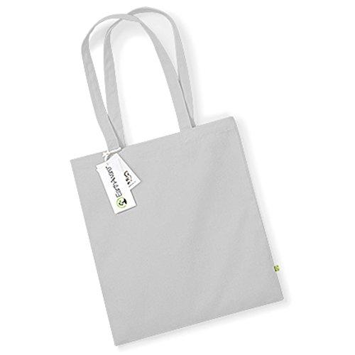 Westford Mill earthaware Bio Tasche für Life 67cm Griff Länge Premium schwere Stoff, baumwolle, hellgrau, Einheitsgröße (Leder-satchel Italienischen Weiche)