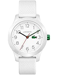 Lacoste Unisex-Kids Analogue Classic Quartz Connected Wrist Watch with Silicone Strap 2030003