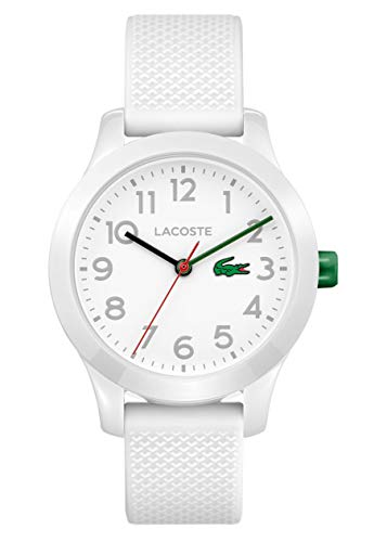 Lacoste Unisex-Kids Analogue Classic Quartz Connected Wrist Watch with Silicone Strap 2030003 Best Price and Cheapest
