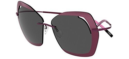 Sonnenbrillen Silhouette PERRED SCHAAD 9910 PLUM/SMOKE Damenbrillen