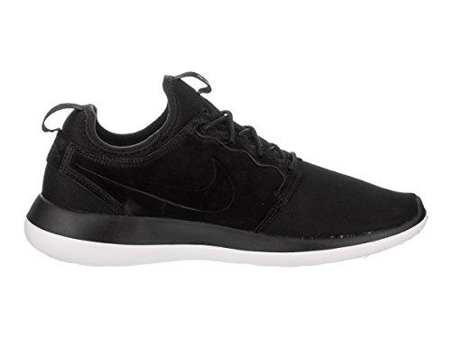 Nike Herren Roshe Two Br Trainer Schwarz (Black/White/Metallic Gold)