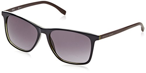 BOSS Hugo Herren 0760/S Hd Sonnenbrille, Blau (Bluette Burgundy/Grey Sf), 55