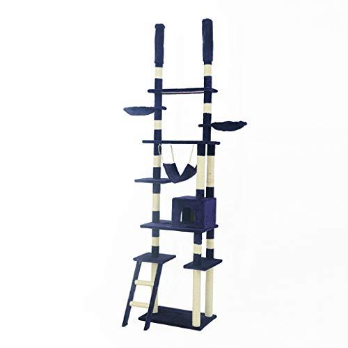 Mal telaio per arrampicata gatto di lusso di grandi dimensioni, mensola per gatti, piattaforma per saltare catello per gatti tianzhu arrampicata gatto telaio telaio per arrampicata gatto telaio grab