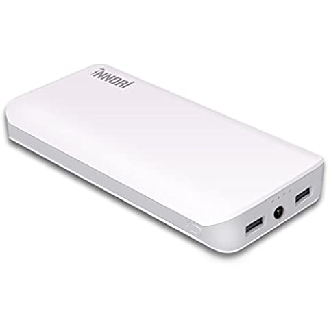 TWME Caricabatteria Portatile 22400mAh 3 USB caricatore mobile Batteria Esterna ad Alta Capacità
