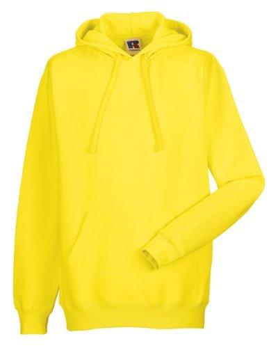 Russell Athletic -  Felpa con cappuccio  - Donna giallo Large