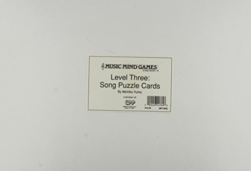 Music Mind Games Song Puzzle Cards Lev3