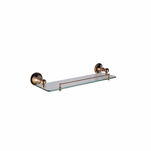 D&D-Bathroom Accessories Badaccessoires Sets/Um die Basis der Continental Rose Gold Bad Acc Kit Handtuchhalter Papierrollenhalter WC Bürstenhalter dann zweipolige Einzel Doppel Schale, Regal 1.