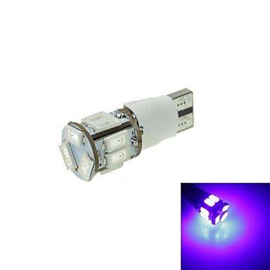T10 LED 2-mode blu 5w 11x5630smd 550lm per la luce freno auto (DC12-16V)