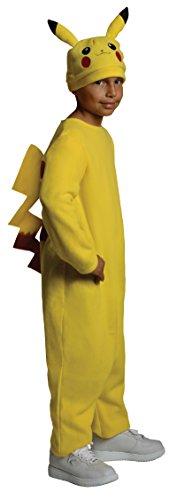 Rubies Costume Co R884779-M Deluxe Jungen Pokemon Pikachu Kost-m (Jungen Kostüme Pikachu)