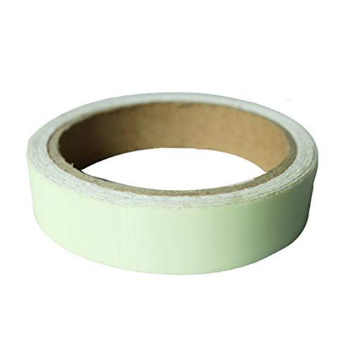Blau & Grün Glow Tape Sicherheitsaufkleber Leuchtband Fluoreszierend Selbstklebender Sticker Bühnenbild Striking Warnband - Blau & Grün 3CMx1M