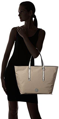 Calvin Klein ED1TH Large Tote, Sacchetto Donna, 15 x 33 x 54 cm (b x h x t) Beige (Desert Taupe)