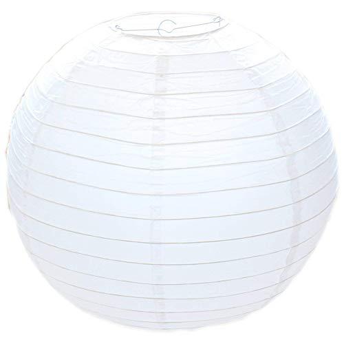 weißen Lampions hängende Papierlaternen für Hochzeiten, Geburtstage, Partys und Veranstaltungen ()