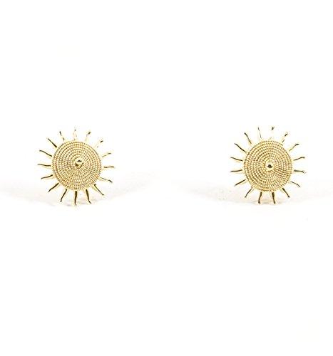 Orecchini Sole Corbula Oro Giallo 18kt