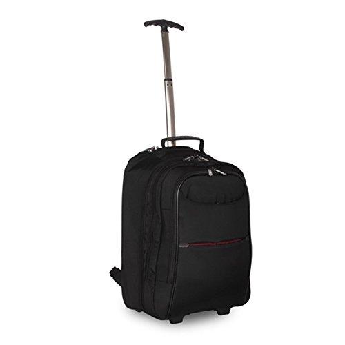 Imagen de  ligera con ruedas | correas concealable | cabina bolsa de viaje equipaje de mano | portátil bolsa con ruedas alternativa