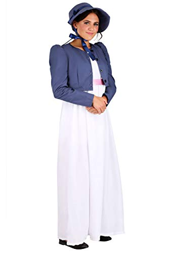 Austen Jane Kostüm - Jane Austen Women's Fancy Dress Costume Medium