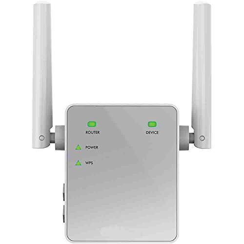 Netgear EX3700 Ripetitore WiFi Wireless, Velocità Dual Band AC750, WiFi Extender e Access Point Basic, Compatibile con Tutti i Modem Router ADSL