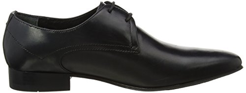Hudson London Leto, Derby Uomo, Marrone Nero (Black)