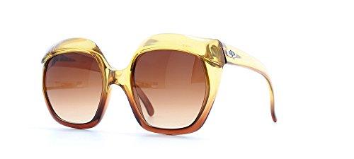 Christian Dior Damen Sonnenbrille gelb gelb