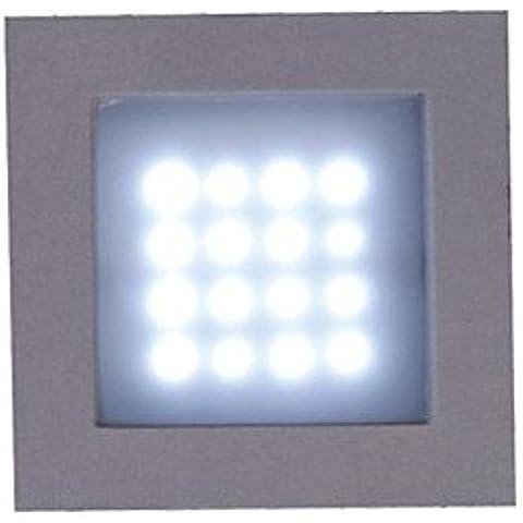 BILing 24w llevó esquina reflector de luz - blanco cálido / blanco) , White