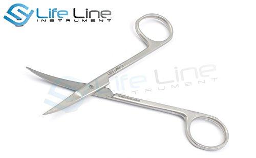 Lifeline Instruments® Tijeras De Iris 12 cm Curva