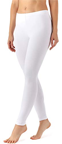 Merry Style Legging Long Pantalon Tenue de Sport Vêtement Femme MS10-143 - Blanc - Taille 44 (Taille du producteur: XL)