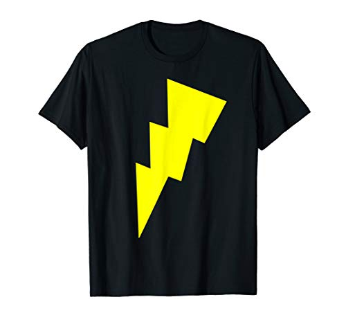Kostüm Bolt Licht - Lustiges Cool Gelb Blitz Bolt Zeichen Lichter Race Running T-Shirt