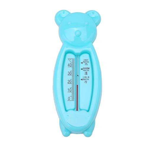 , Baby Sicherheit, Cartoon Bär Form Baby Dusche Badewanne Wassertemperatur Test Tool für Outdoor und Schwimmbad - Blau ()