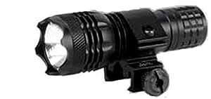 Gamo - Torche Lampe Tactique pour Gamo PT-85 B P-25 B Pistolet Gamo Carabine Fusil Support 9,5 mm et 15 mm Bouton Poussoir Interrupteur Pression Momentanée