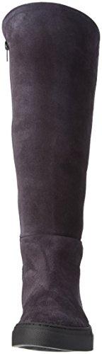 Jonny's Skule, Stivali Alti Donna Multicolore (Mehrfarbig (Antracita / Negro))