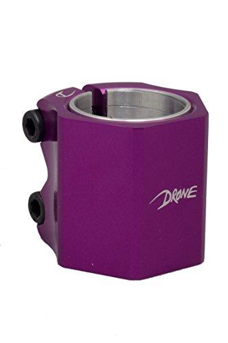 drone-scooters-trotinette-freestyle-collier-de-serrage-didi-hive-collier-double-purple-purple-taille