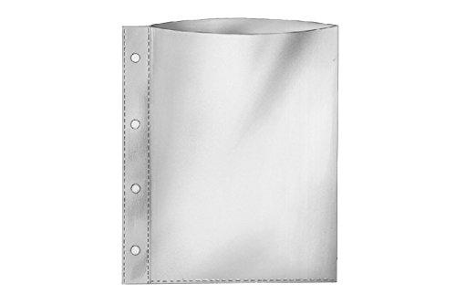 REIF-A4+-Prospekthüllen 18340, extra groß für bis zu 80 Blatt Papier, 0,160 mm, Inh. 100 Hüllen -