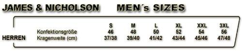 J&N - taillierte Herren Softshell-Jacke (JN1058) Marine