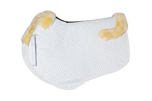 Merauno Lambskin GP Saddle Pad Full Blanket Jumping Numnah Saddlecloth & Square Saddle Pads Horse Riding Show General… 1