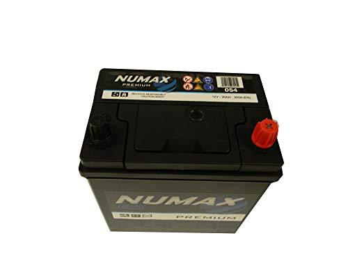 Numax, 054Batteria per auto, alta qualità, da 12V, 35Ah, 300A (En)