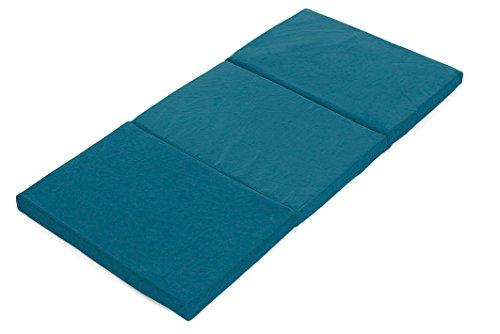 Colchón para cuna de viaje con funda protectora (60 x 120 cm)