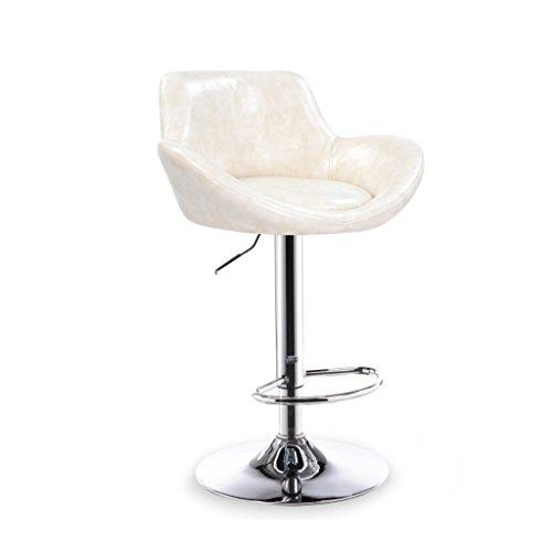 Xueping counter chair rotary lift bar sgabelli/sedie cucina dining bar bar sgabello/sedia home single/doppia altezza sedia chiodo multicolore (colore : d, dimensioni : one)