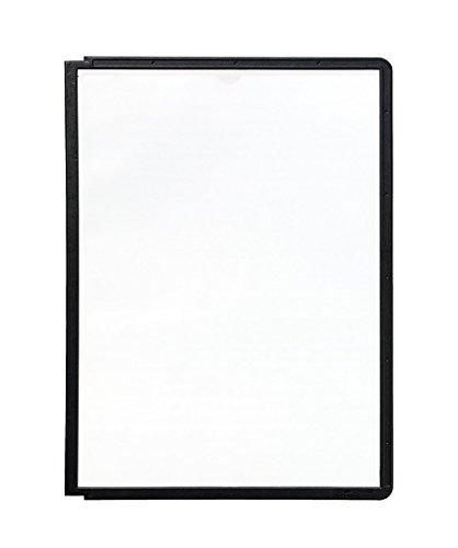 Preisvergleich Produktbild Durable 560601 Sichttafel Sherpa Panel A4, PP 5er Packung schwarz