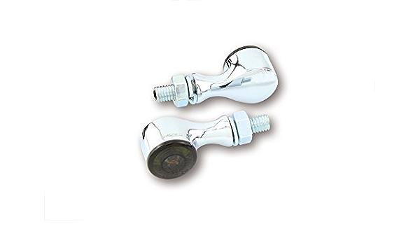 Highsider Motorrad Led Rücklicht Blinker Apollo Classic E Geprüft 2er Pack Auto