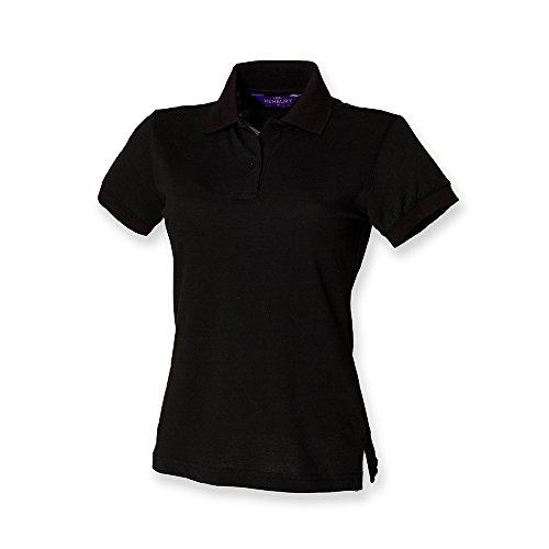 Henbury Womens / Ladies Stretch Pique Polo Shirt