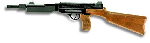 tic 45 Special: Spielzeuggewehr in Geschenke-Box für Agenten und Polizisten, ideal für Fasching, für 13-Schuss-Munition, 61.5 cm, braun/schwarz (E0365/24) ()