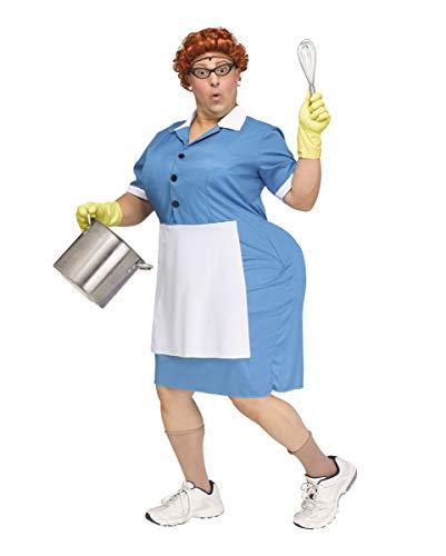 Hintern Kostüm Fake - Big Booty Cafeteria Lady Herren Kostüm für Karneval und Halloween