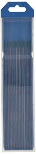 GYS 10 - Electrodos de wolframio (150 mm, para CA, 1,6 mm de diámetro), color verde