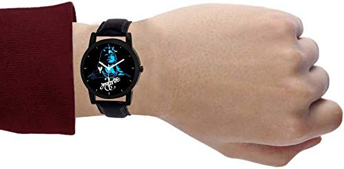 TULIPS FASHION 2019 Collection Analogue Black Dial Men's Watch