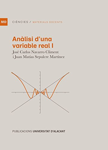Anàlisi d'una variable real, L' (Materiales docentes) por José Carlos Navarro Climent